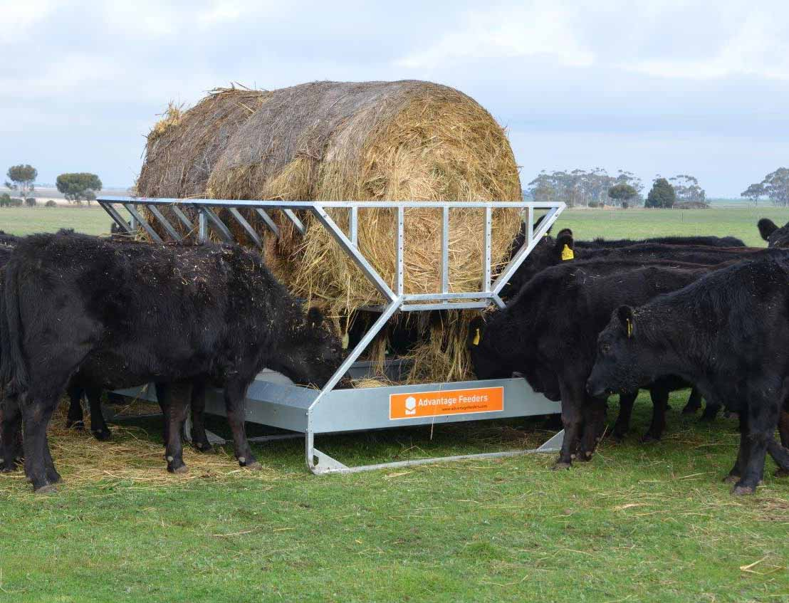 Tray Hay Feeder Extended Advantage Feeders